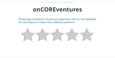 on-core ventures online review request